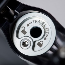 Absenkbare Sattelstütze Vecnum NIVO - TRAVELFIT Verstellweg Maximierung