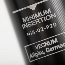 Absenkbare Sattelstütze Vecnum NIVO - Mindest Einstecktiefe